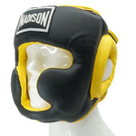 Deluxe Full Face Headguard - Yellow