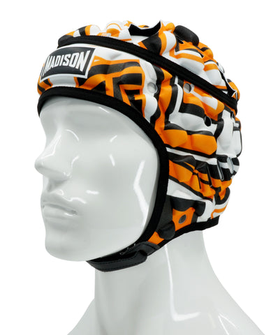 Graffiti Headguard - Orange/Black