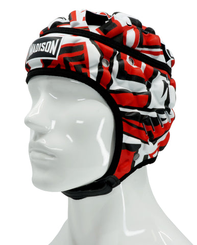 Graffiti Headguard - Red/Black
