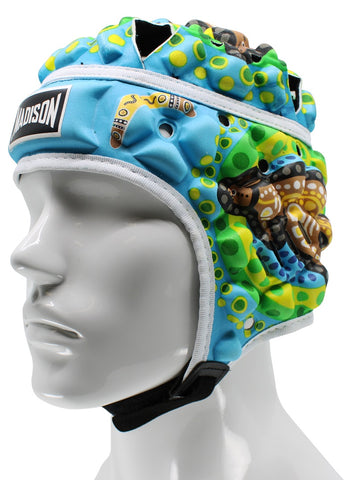 Indigenous Headguard - Blue/Green