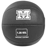1.25kg Leather Medicine Ball