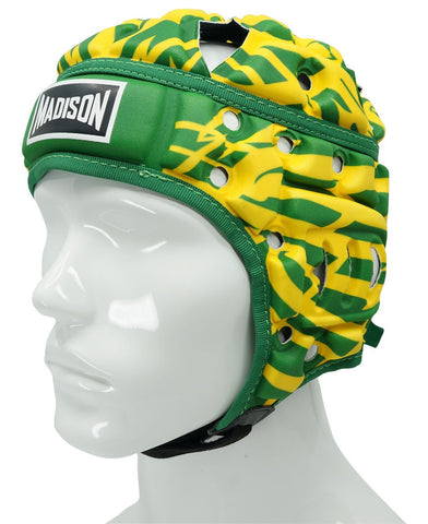 Air Flo KP Headguard - Green/Gold