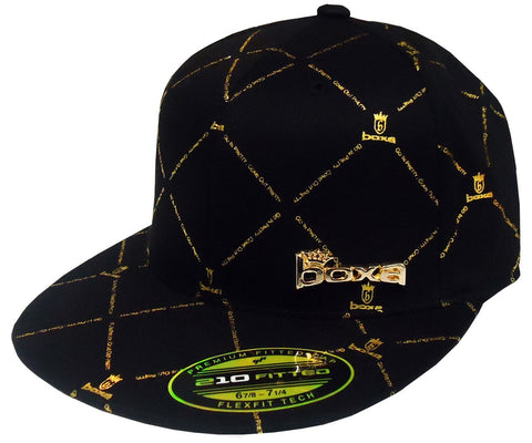BOXA Crown Flexfit Cap - Black