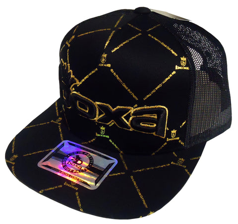 BOXA Crown Trucker Cap - Black