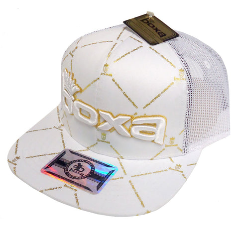 BOXA Crown Trucker Cap - White