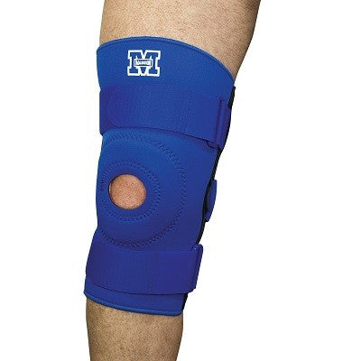 Hinged Knee Brace - Blue