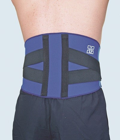Back Adjustable Support - Blue