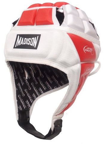 Coolmax Headguard - Red/White