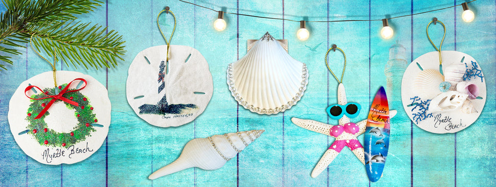 Coastal Christmas Ornaments Gifts and Keepsakes