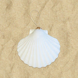 Glitter Shell Ornaments