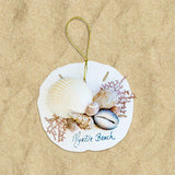 Shell Cluster Sea Fan Ornaments