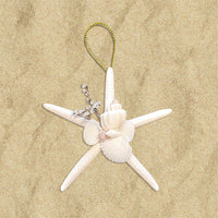 SF-13 Shell Cluster Starfish Ornament