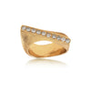 Liao ring i 14kt. guld med 10 brillanter, 0,30 ct. i alt. Design: Rebecca Falck