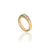 Ring i 14K guld med sju diamanter totalt 0,14 ct.