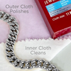 Connoisseurs UltraSoft® Silver Jewellery Polishing Cloth
