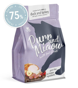 Grain-free dry cat food (1.5kg)