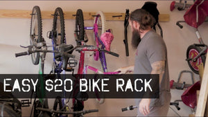 Best Garage Bike rack I have found to date