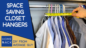 Interested in saving closet space then use these wonder hangers