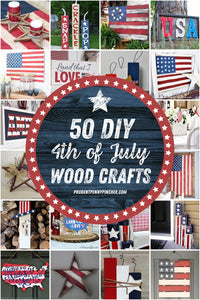 From DIY 4th of July wall art to rustic 4th of July front porch ideas, these 4th of July wood crafts will show your patriotic pride.