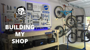 Today we build a bike workshop, and the new set of my YouTube channel! Everything you see in the video is below