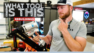 I had a lot of questions during one of my recent build series episodes about what tool I was using to install metal connectors on our porch