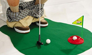 Golf Game For Toilet Totally Hilarious Off The Wall Game