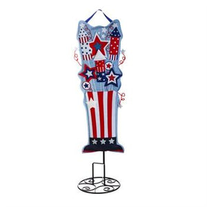 "Patriotic Pride 36"" Lighted Statement door hanger"