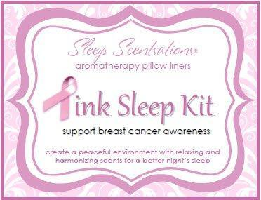 Sleep Scentsations Breast Cancer Awareness Kit - Pillow Liners by Therascent Products