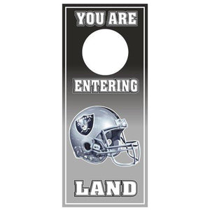 NFL Oakland Raiders Door Hanger (Pack of 2)