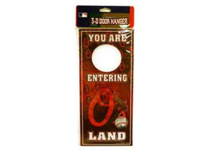MLB Baltimore Orioles Door Hangers