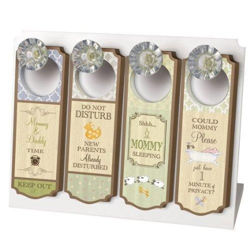 Baby It's You - Elegant Wood Nursery Door Hanger