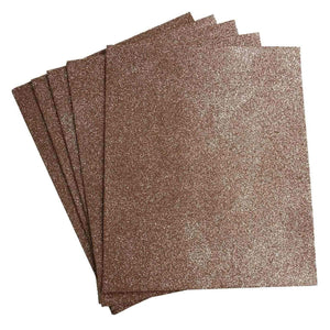 "10 Pack 12"" Natural Ultra-Glitter Foam Single Color DIY Art Craft Sheets Fofuchas"