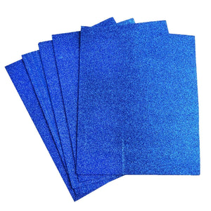 "10 Pack 12"" Royal Ultra-Glitter Foam Single Color DIY Art Craft Sheets Fofuchas"