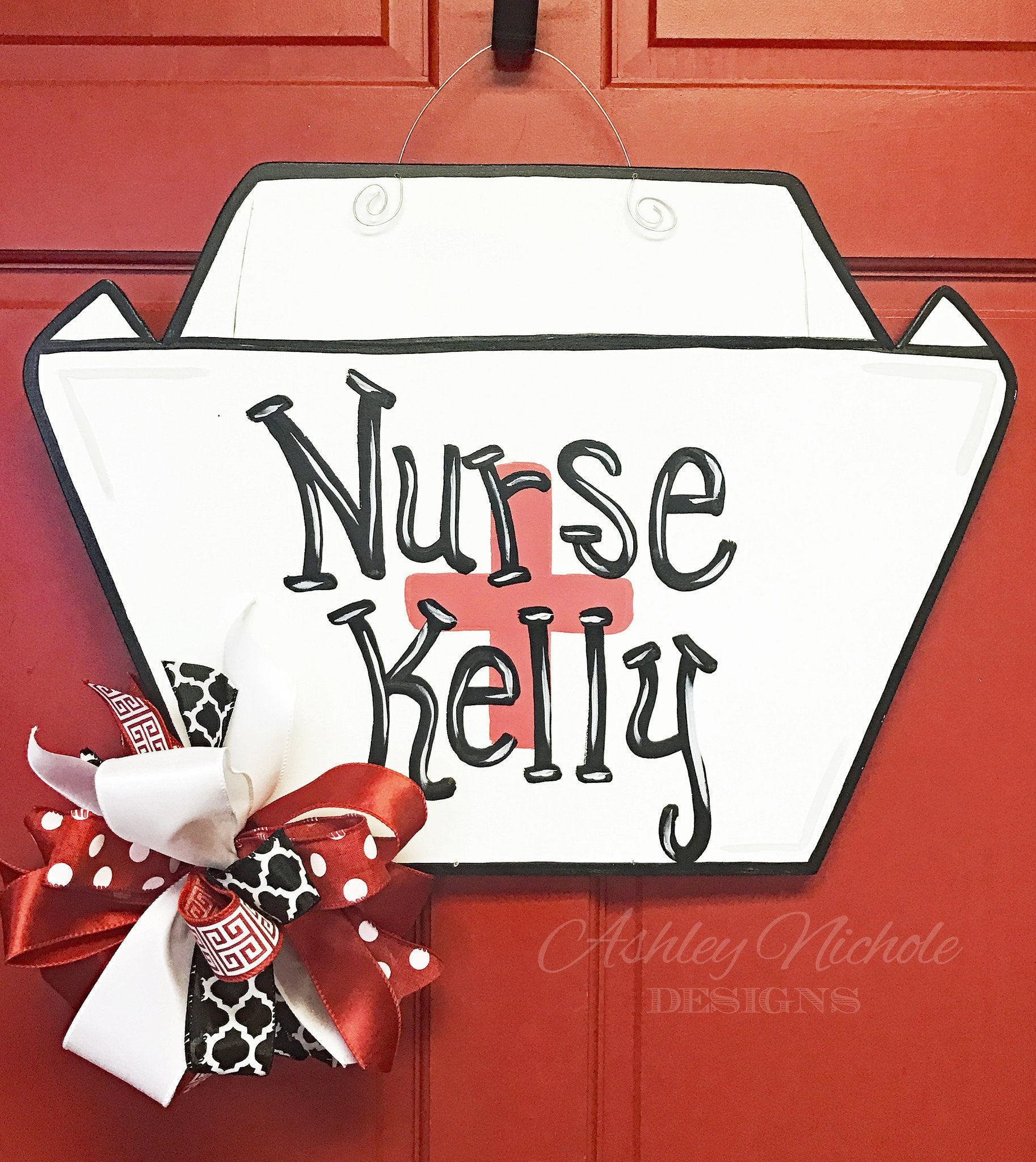 Nurse Hat Door Hanger