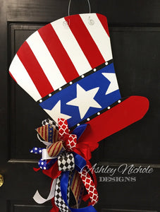 Uncle Sam Hat Door Hanger