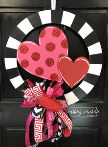 Circle of Hearts Door Hanger