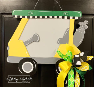 Golf Cart Door Hanger