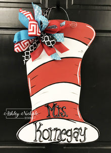 Dr. Seuss Hat Door Hanger