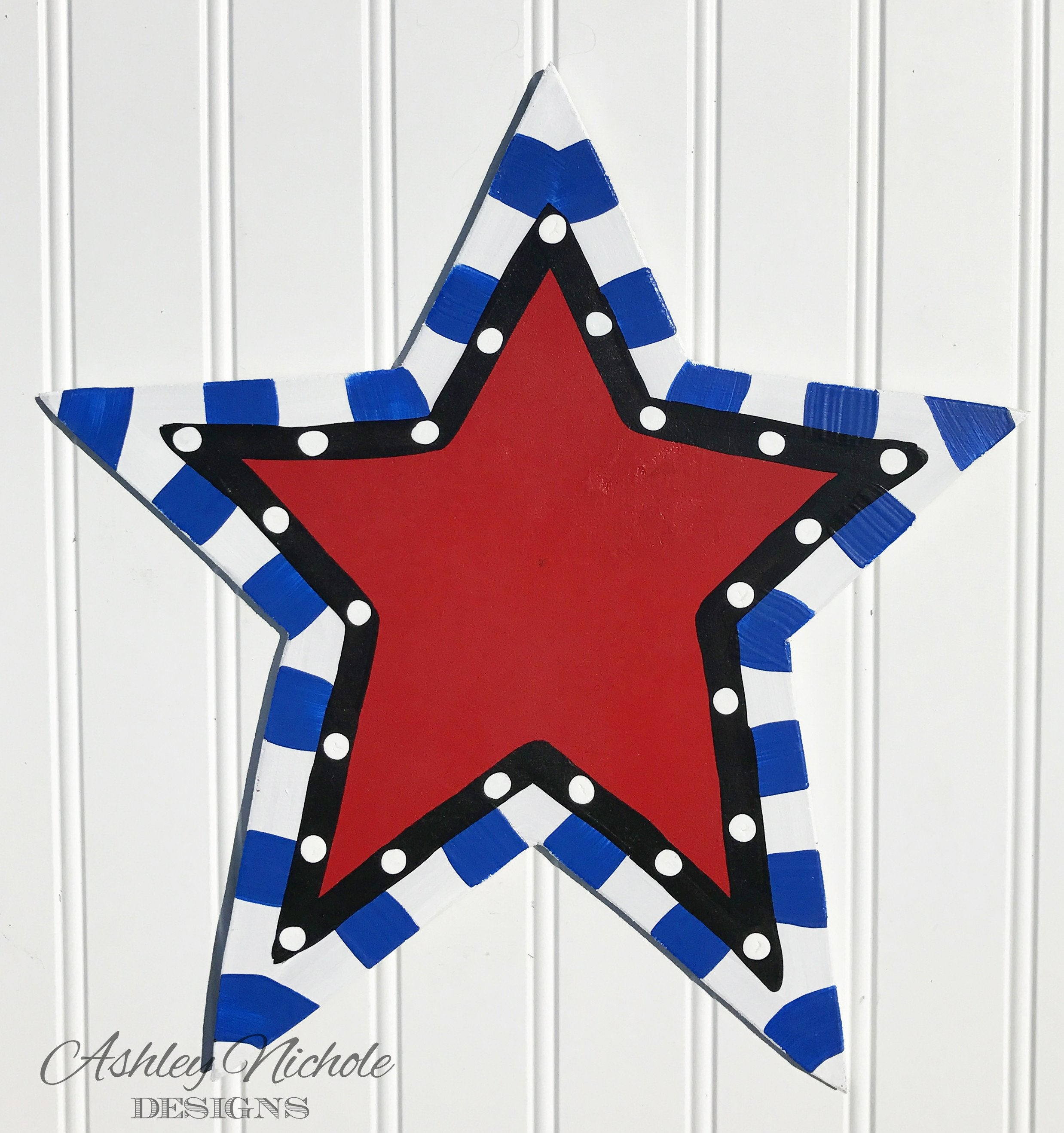 Funky Red Star Attachment