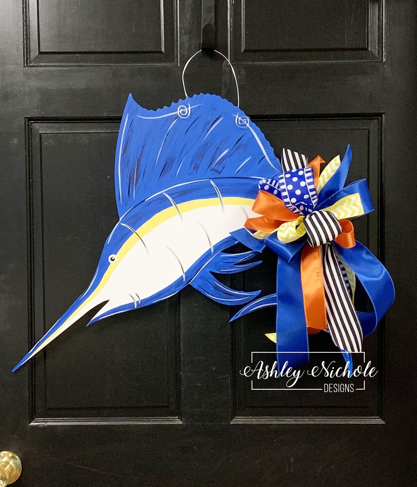 Marlin Door Hanger