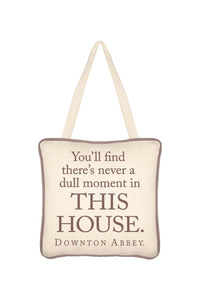 SIMPLY STATED 6x6 DOOR HANGER QUOTE DULL