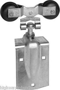 (4) sets National  N193-730 Pair of Zinc 600 lb Barn Door Hangers / Rollers