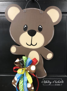 Teddy Bear Door Hanger