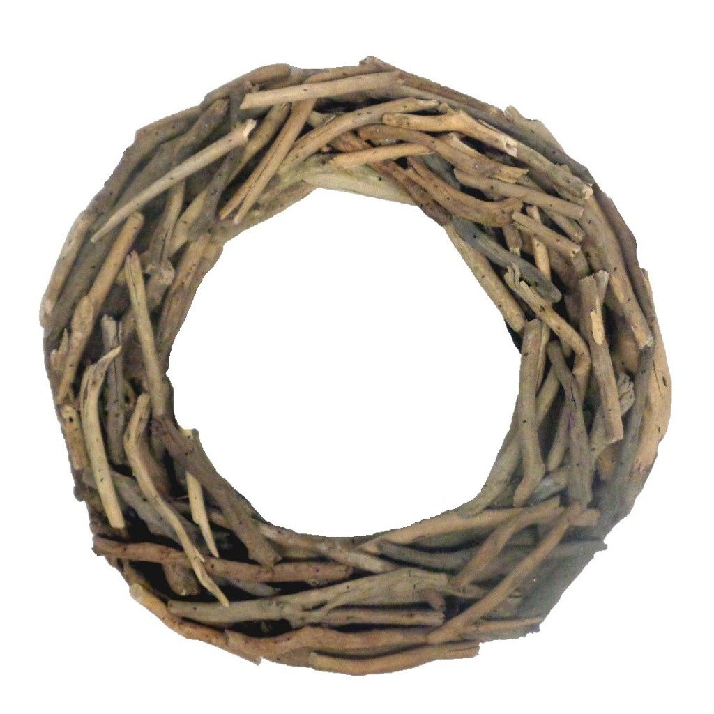 Driftwood Wreath 15 Inch Outside Diameter