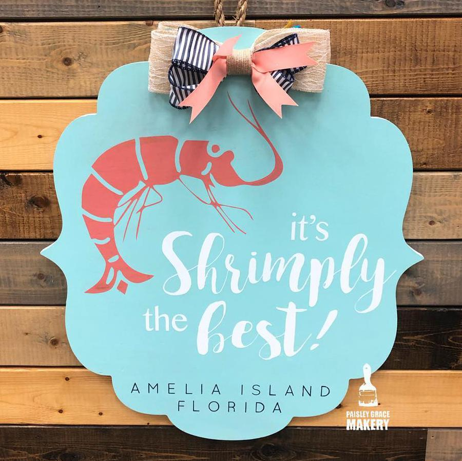 IT'S SHRIMPLY THE BEST BRACKET: DOOR HANGER DESIGN