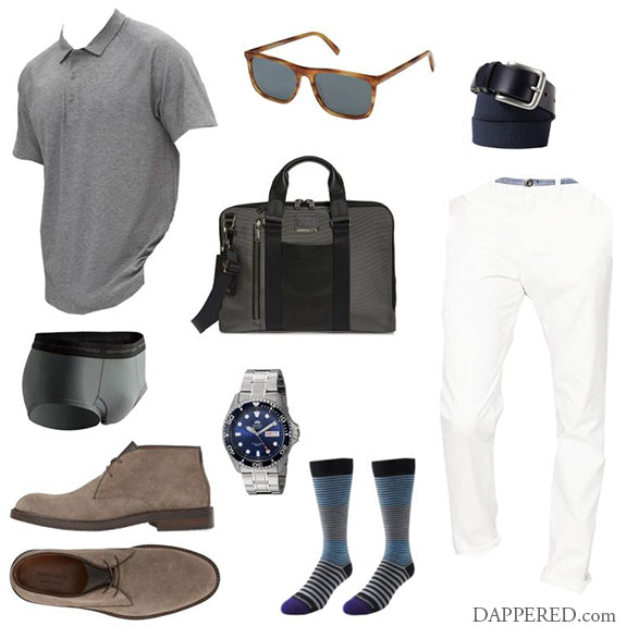 Chinos, Chukkas, Polo #3 – Monochrome & Extra Cool for the Heat
