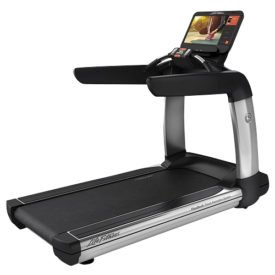 The Life Fitness Platinum Club Series Treadmill brings the gym experience to your home with several high-tech features designed to enhance your running experience as well as a durable motor and frame built to last