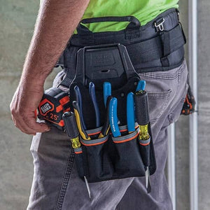 (Lincolnshire, Ill.) – Klein Tools (www.kleintools.com), for professionals since 1857, introduces the new Tradesman Pro Click-Lock Modular System, with multiple pouch and holding options, all designed to allow you to carry and transport both tools...