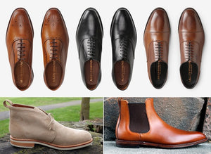 Monday Mens Sales Tripod  $150 USA Made Dress Shoes, Suitsupplys Spring Arrivals, & more