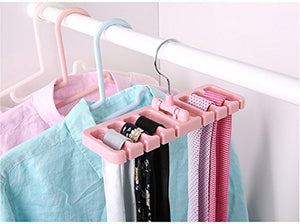 1 Pcs. Multifuction Storage Rack Tie Belt Organizer Rotating Ties Hanger Holder Closet Organization Wardrobe Finishing Rack Space Saver